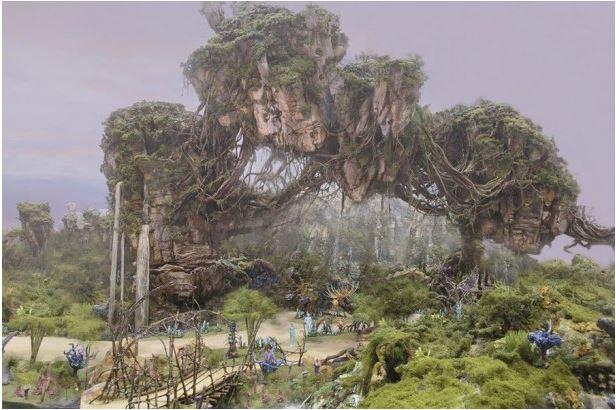 Animal Kingdom concept art for Avatar Land