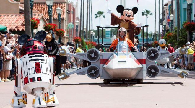 Jedi Mickey at Disney's Hollywood Studios