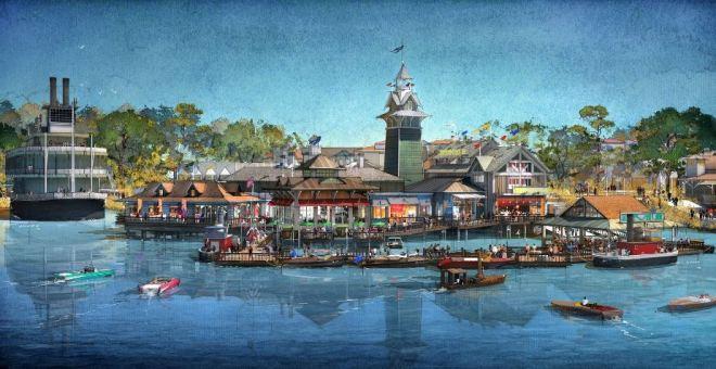 Disney Springs concept art ©Disney