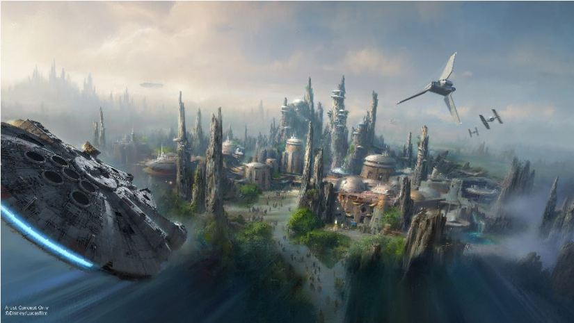 Star Wars Themed Land- Artist Concept