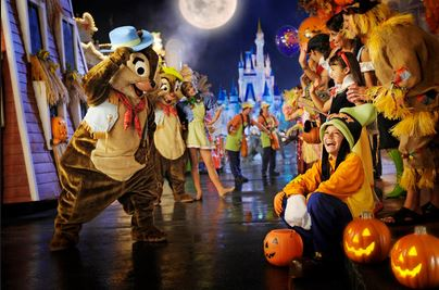Mickey's Not So Scary Halloween Party Details